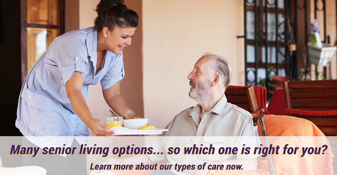 Many senior living options